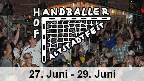 Altstadtfest Handballerhof