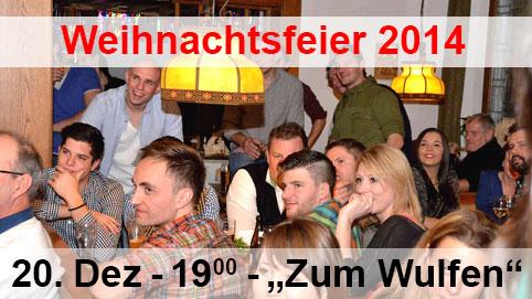 Weihnachtsfeier 2014 Kauerhof