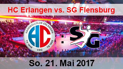 HC Erlangen vs. SG Flensburg/Handewitt