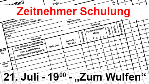 Zeitnehmer Schulung BHV Ostbayern