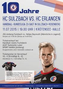 HC-Sulzbach-10-Jahre-HC-Erlangen-Plakat
