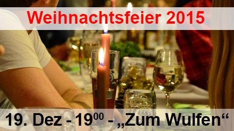 Weihnachtsfeier 2015 Kauerhof